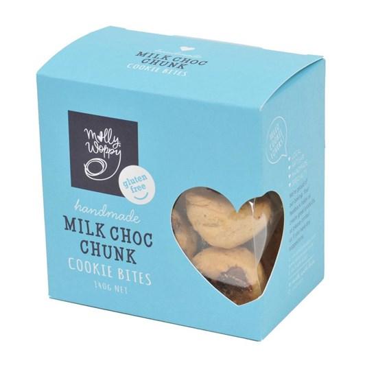 Molly Woppy Gluten Free Milk Choc Chunk Cookie Box 140g