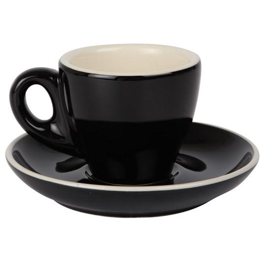 Rockingham Espresso Tulip Cup and Saucer Set