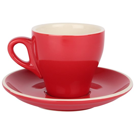 Rockingham Espresso Tulip Cup and Saucer Set