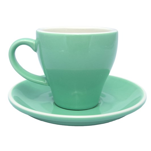 Rockingham Long Black Cup and Saucer Set