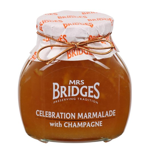 Mrs Bridges Celebebration Marmalade With Champagne 340g