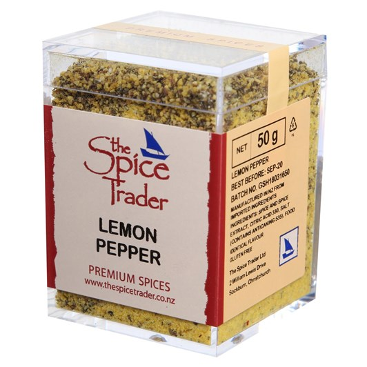 Spice Trader Lemon Pepper 50g