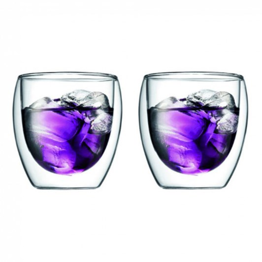 Bodum Pavina Double Wall Glass 2 Set .25L