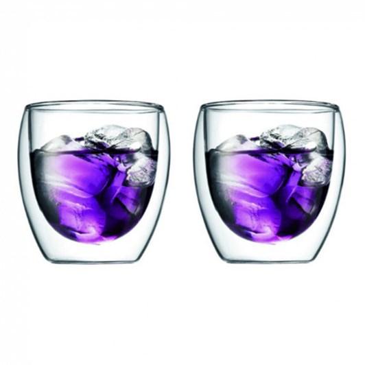 Bodum Pavina Double Wall Glass 2 Set .25L