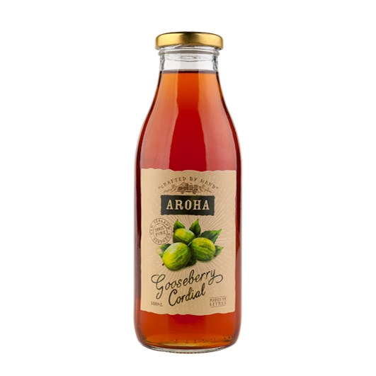 Aroha Gooseberry Cordial 500ml