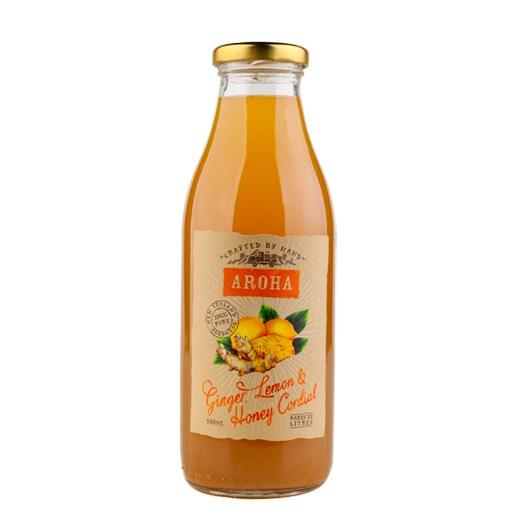 Ginger Honey & Lemon Cordial