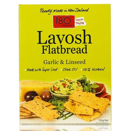 Lavosh Linseed Garlic 150g