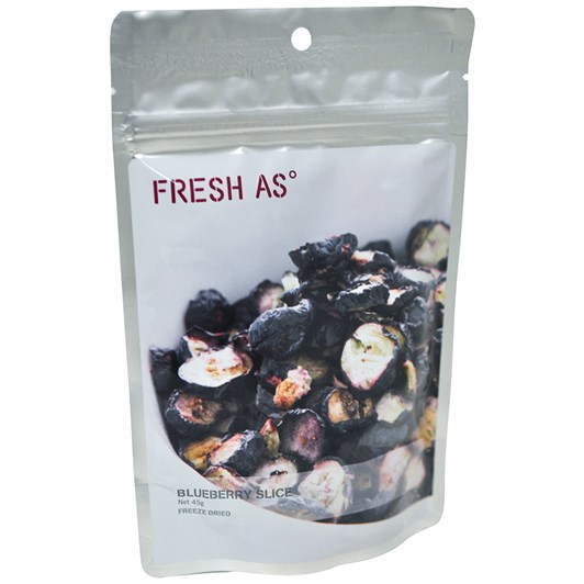 Fresh As Blueberry Slices 45g