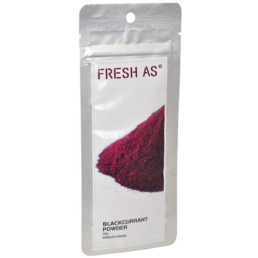 Fresh As Blackcurrant Powder 40g