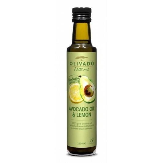 Olivado Lemon Infused Avocado Oil 250ml