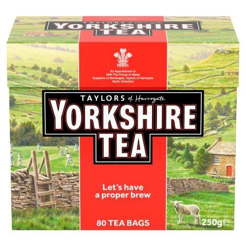 Taylors Of Harrogate Yorkshire Teabags 80's
