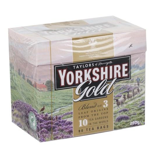 Taylors Of Harrogate Yorkshire Gold Tea 80 Bags