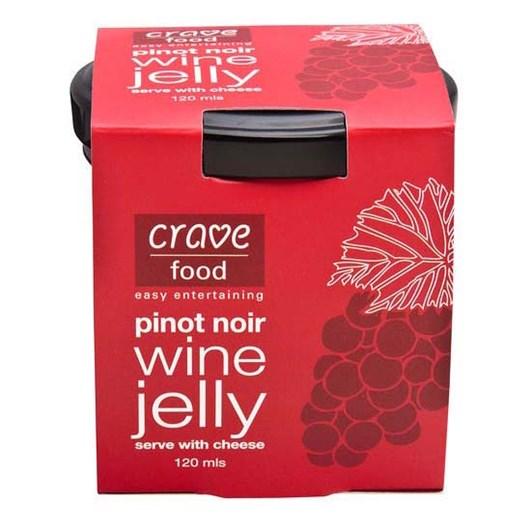 Herb & Spice Mill Pinot Noir Wine Jelly 120ml