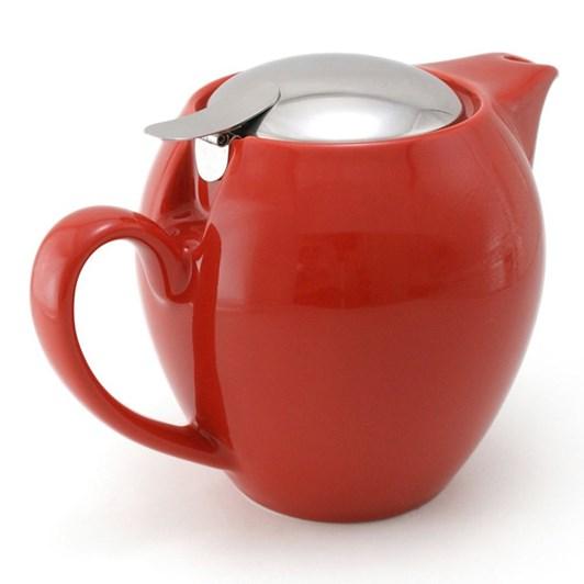 Zero Japan 580ml Teapot - Tomato