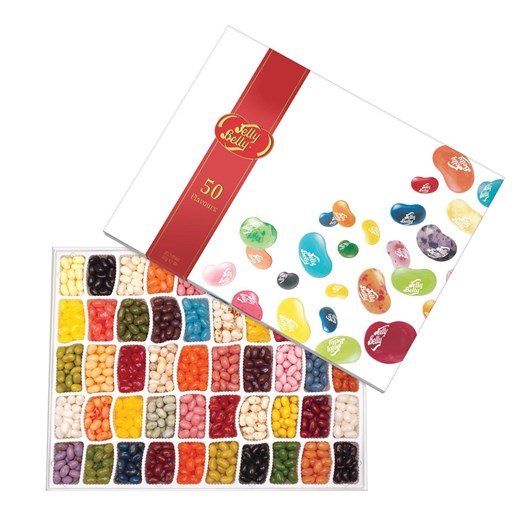 Jelly Belly 50 Flavour Gift Box 600g