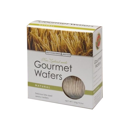 Rutherford & Meyer Gourmet Wafers - Natural 120g