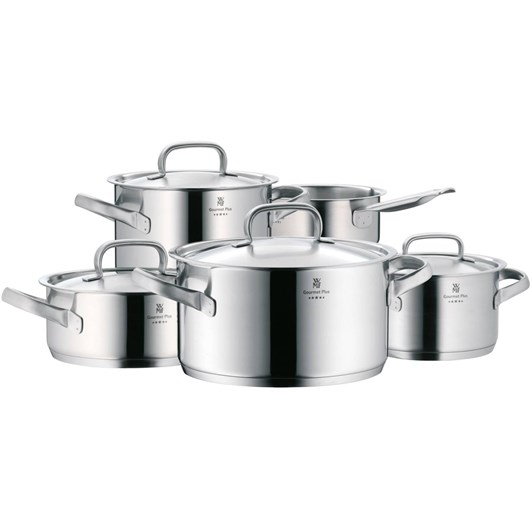 WMF Gourmet Plus 5 Piece Saucepan Set
