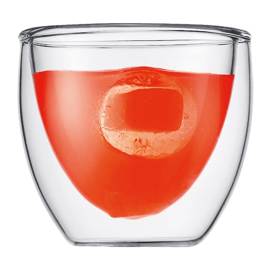 Bodum Pavina Glass Extra Small 2 Piece .08L