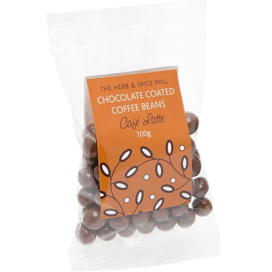 Nestar Chocolate Coffee Beans - Café Latte 100g