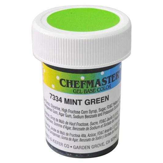 Chefmaster Colour Gel - Mint Green 27g