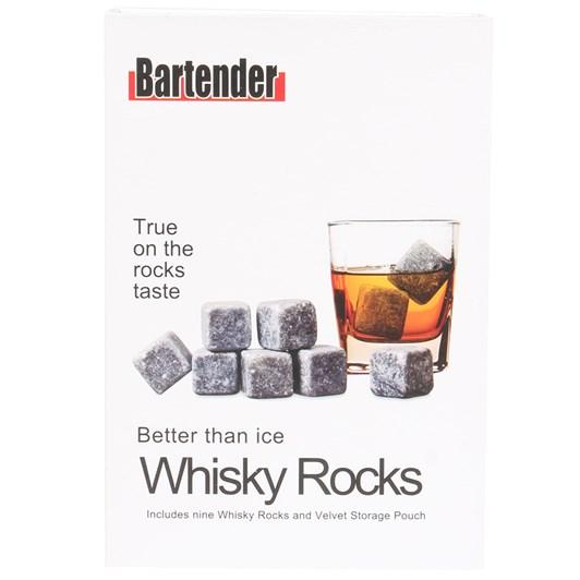 D.Line Bartender Whisky Stones Set 9 with Bag