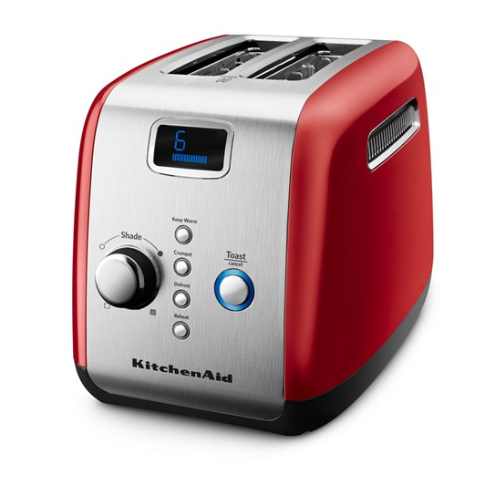 KitchenAid Empire Red Artisan 2 Slice Toaster