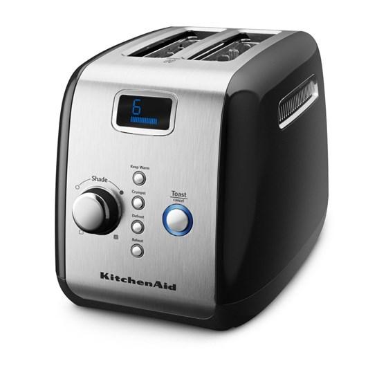 KitchenAid Black Artisan 2 Slice Toaster