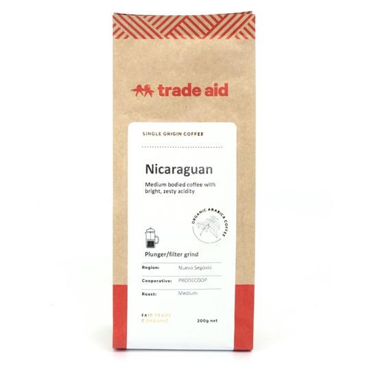 Trade Aid Organic Coffee Nicaraguan - Medium Ground
