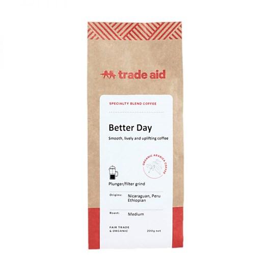 Trade Aid Organic Coffee Better Day Blend - Medium Ground