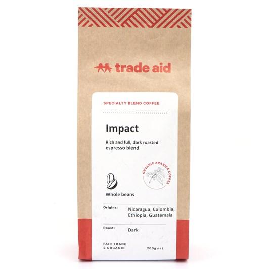 Trade Aid Organic Coffee Impact Blend Beans