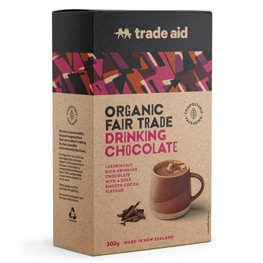 Trade Aid Organic Drinking Chocolate Dark