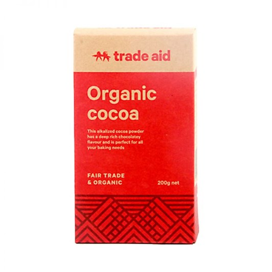 Trade Aid Organic Baking Cocoa