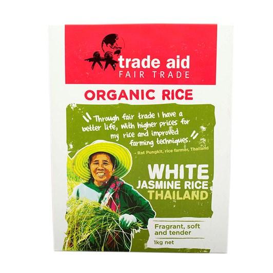 Trade Aid Organic White Jasmine Rice