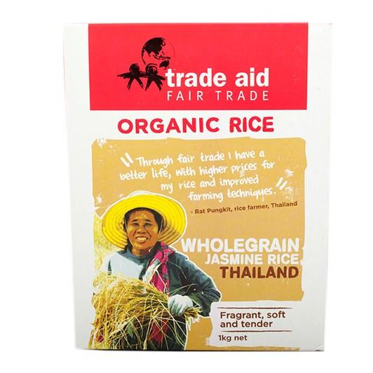Trade Aid Organic Brown Jasmine Rice