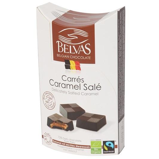 Belvas - Carres Caramel Sale 100gm