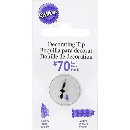 Wilton Leaf Tip #70 (Carded)