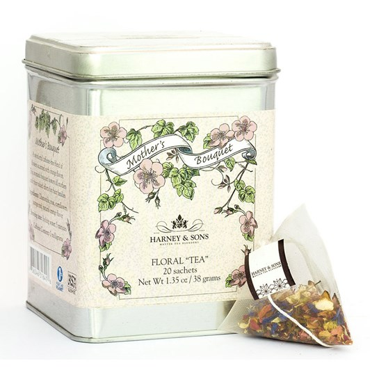 Harney & Sons Mothers Bouquet Tea Tin 20 Sachets