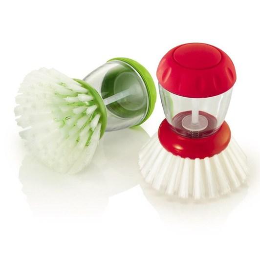 Zeal Dish Brush with Dispenser