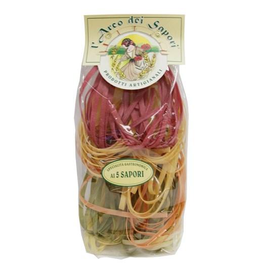 L'Arco Dei Sapori Tagliatelle Al 5 Sapori (5 Flavor) 250g