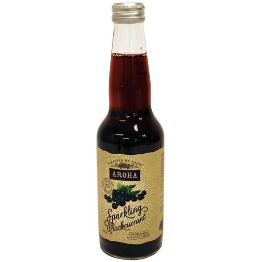 Aroha Sparkling Blackcurrant & Elderflower Mineral Water 330ml