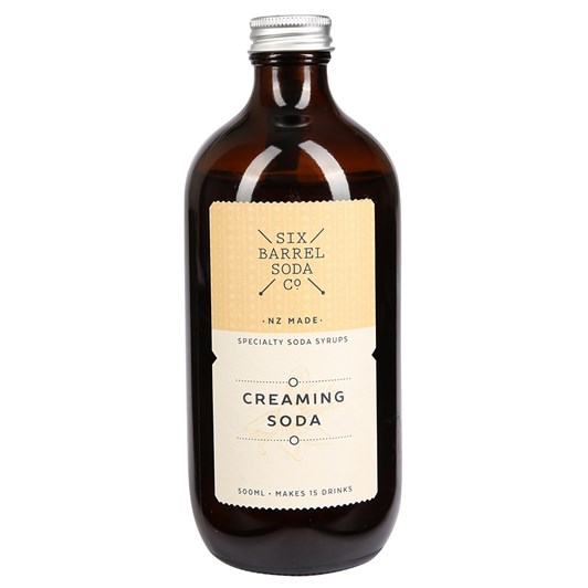 Six Barrel Soda 500ml Creaming Soda