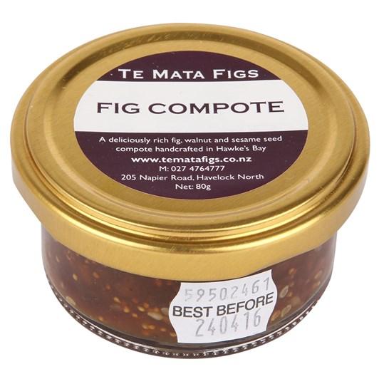 Te Mata Fig Compote 80g