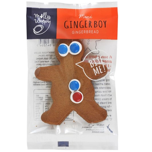 Molly Woppy Small Gingerbread Boy Biscuit Individual