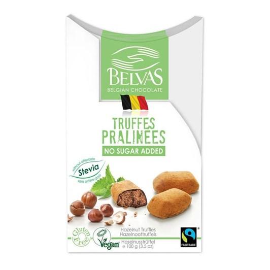 Belvas Hazelnut Truffles Stevia 100g