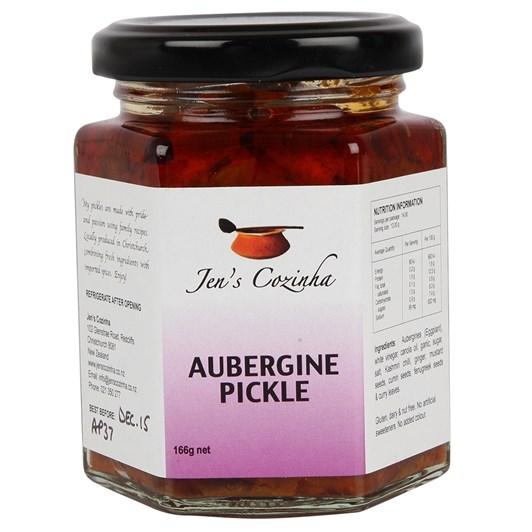 Jen's Aubergine Pickle