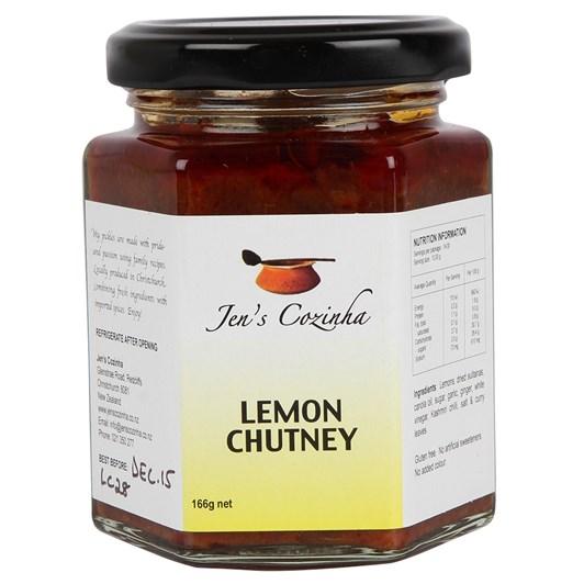 Jen's Lemon Chutney 196g