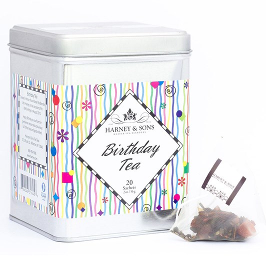 Harney & Sons Happy Birthday Tea Tin 20 Sachets