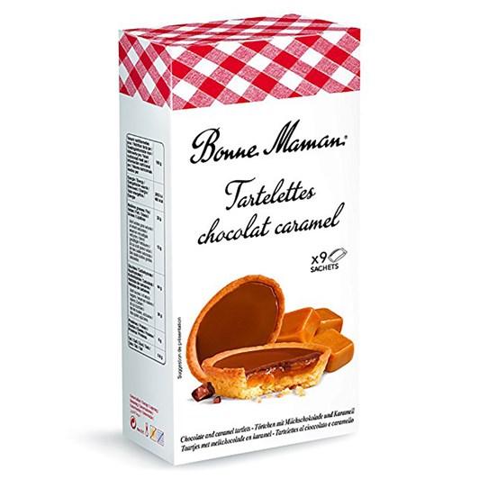 Bonne Maman Chocolate and Caramel Tartlet 135g