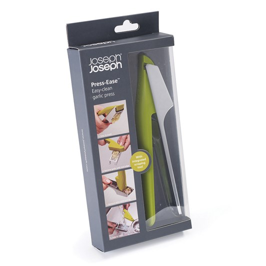 Joseph Joseph Easy Press Garlic Crusher Green