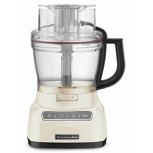 KitchenAid Almond Cream KFP1333 Artisan Exact Slice Food Processor